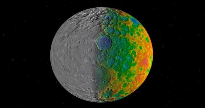 Los misteriosos cráteres de Ceres