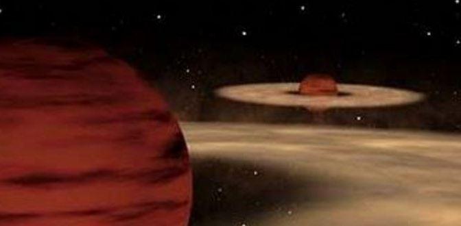"""Un """"planeta"""" con planetas"""