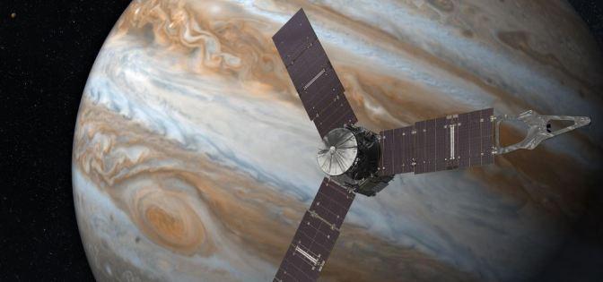 Juno ha llegado a Júpiter