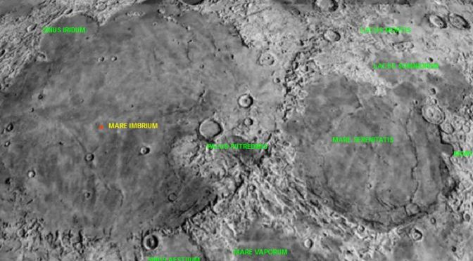 La Luna: La Cuenca Imbrium