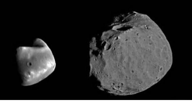 Phobos y Deimos: Las Lunas de Marte