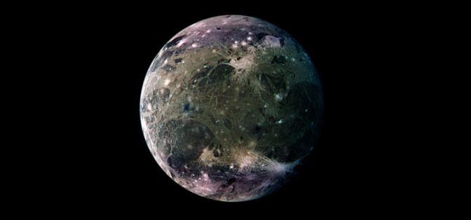 Ganímedes: el mayor satélite del sistema solar