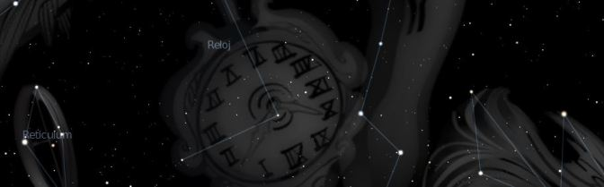 Horologium: un reloj en el cielo