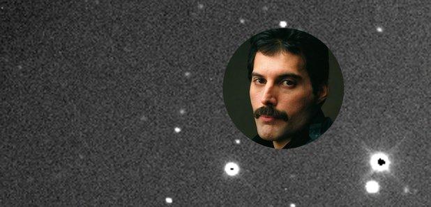 El asteroide Freddie Mercury