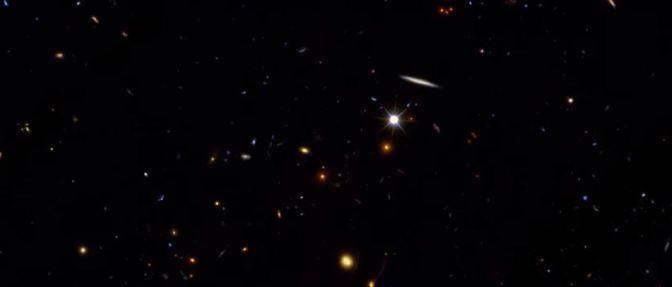 Hubble: Galaxias en el espacio y en el tiempo