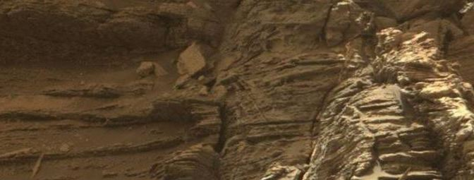 Espectaculares estratificaciones en Marte