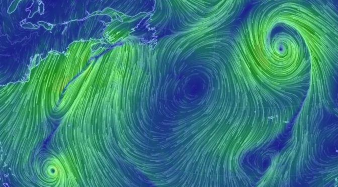 Los vientos de la Tierra interactivos