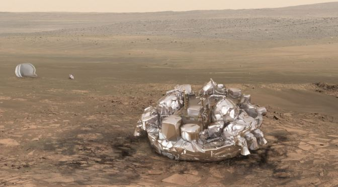 ExoMars en órbita y el módulo de aterrizaje Schiaparelli sin comunicación o estrellado en Marte
