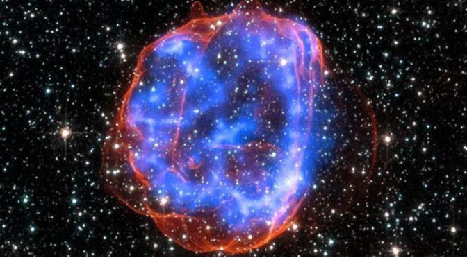 Una preciosa remanente de supernova en la gran nube de Magallanes