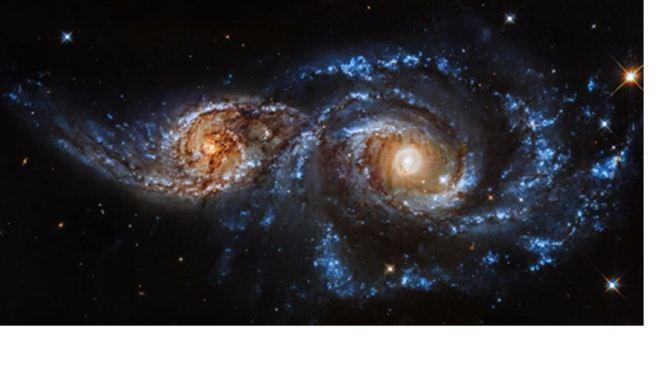 Supergalaxias en colisión