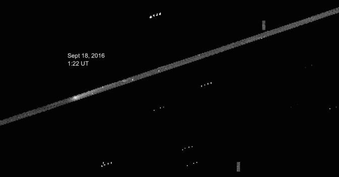 Observación del cometa 67P/Chury desde el telescopio espacial Kepler
