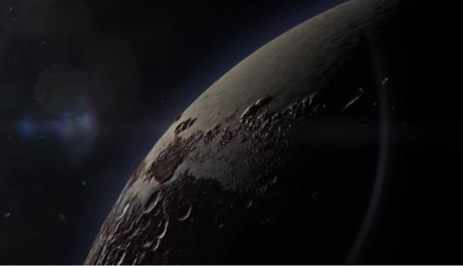 La cara oculta de Plutón