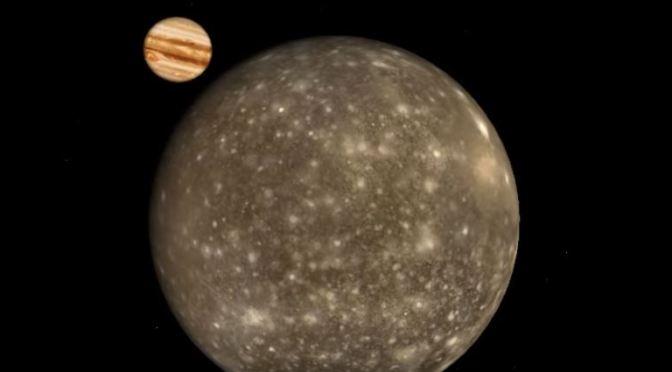 Calisto el objeto del sistema solar con más cráteres