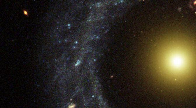 El objeto de Hoag, una extraña galaxia