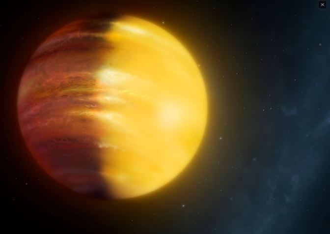"""HAT-P-7b un enorme planeta con vientos de """"zafiros y rubíes"""""""