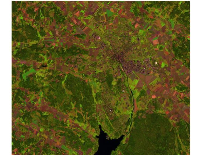 Elementary analysis of optical satellite imagery using principal components transformation