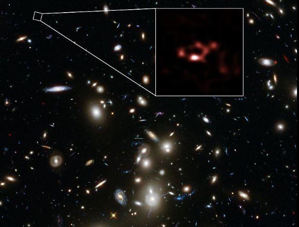 Una antigua galaxia arroja luz sobre las primeras estrellas