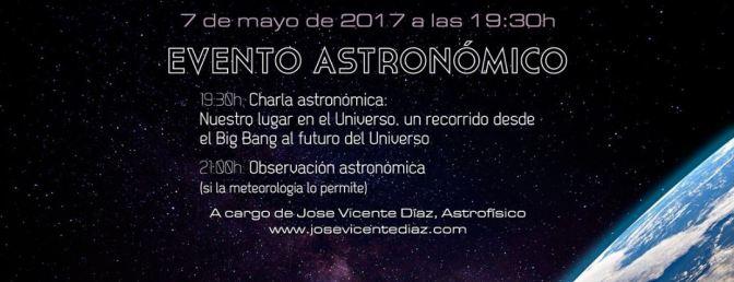 Actividad astronómica en Torrent (Valencia)