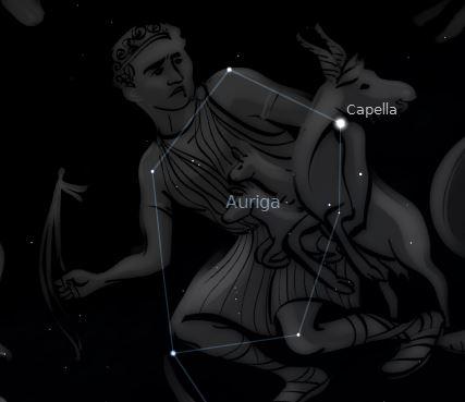 auriga mitología