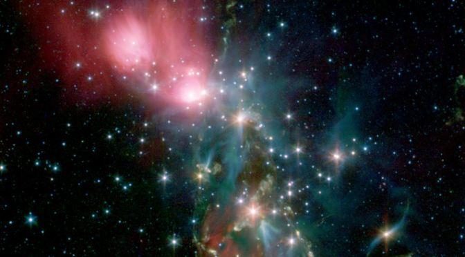 NGC 1333, una impresionante nebulosa de reflexión