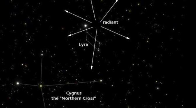 Las Líridas: estrellas fugaces de abril