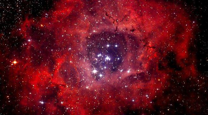 Maravillas del firmamento: La Nebulosa Roseta