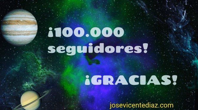 Más de 100.000 seguidores en facebook