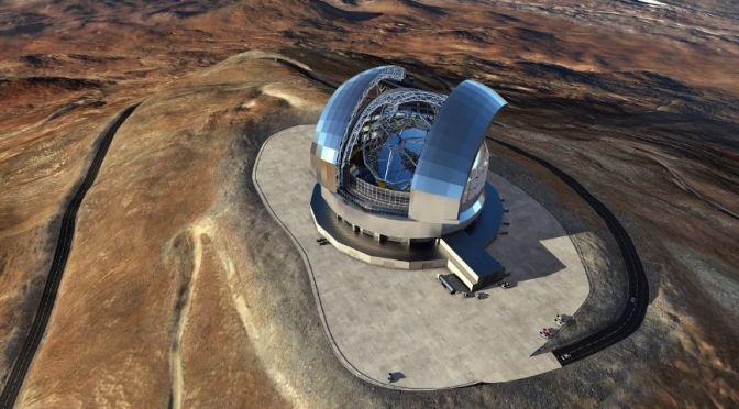ELT el futuro mayor telescopio óptico del mundo