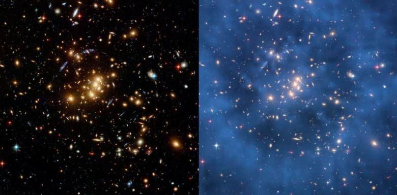 materia oscura hubble