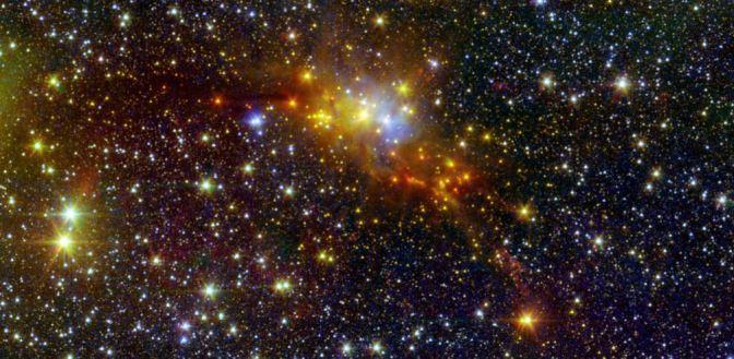 Las estrellas jóvenes de la nebulosa de la serpiente