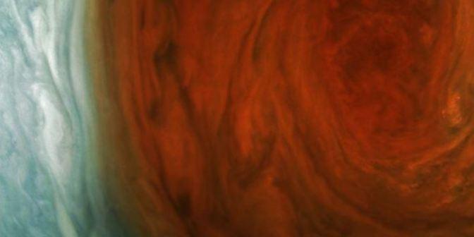 La gran mancha roja de Júpiter como jamás la has visto