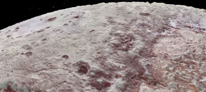 El impresionante sobrevuelo sobre Plutón y Caronte
