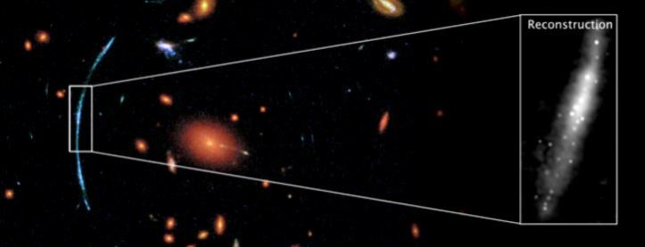 reconstruccion galaxia