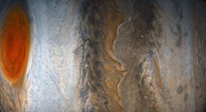 Júpiter visto desde otro punto de vista