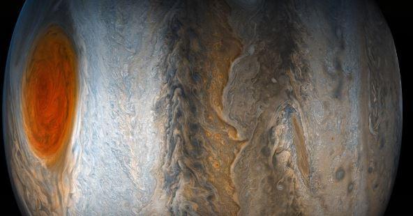 mancha roja júpiter