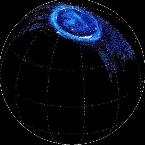 La enorme energía de las auroras de Júpiter