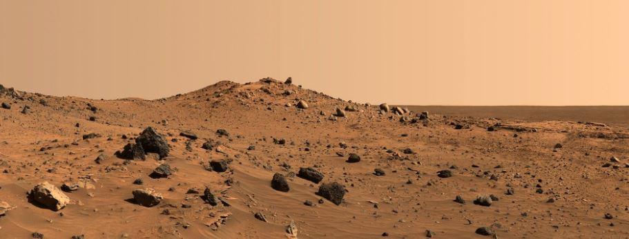 La atmósfera de Marte