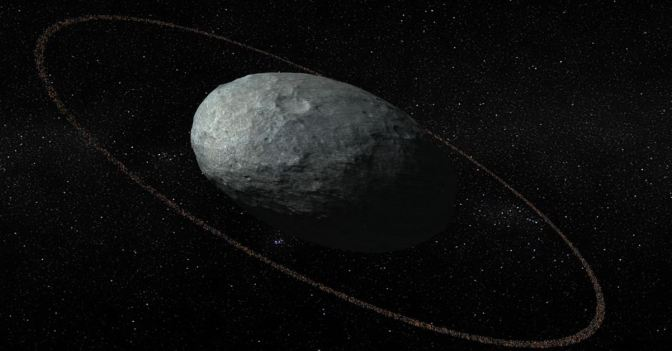 Haumea: el planeta enano que tiene un anillo