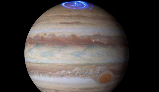 Las preciosas Auroras de Júpiter