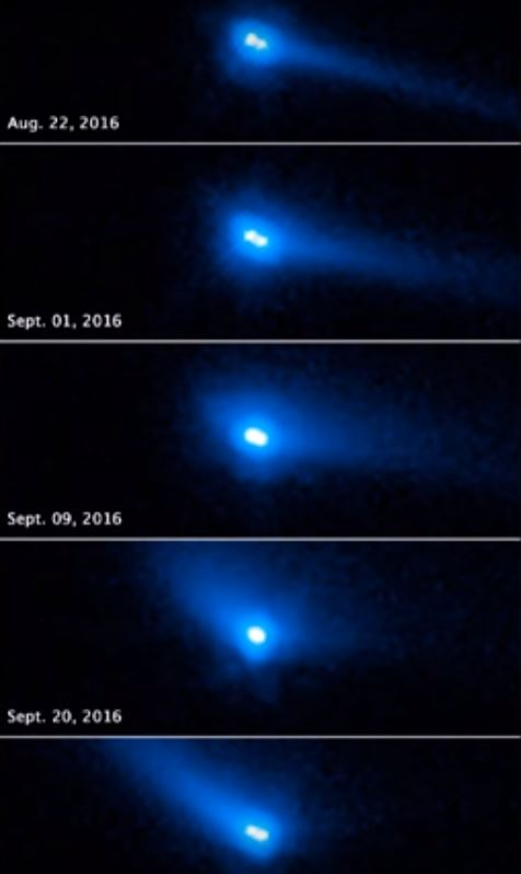 objeto binario cometa