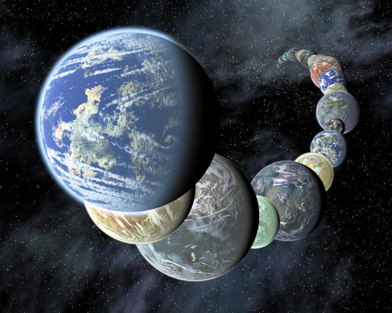 planetas de Kronos
