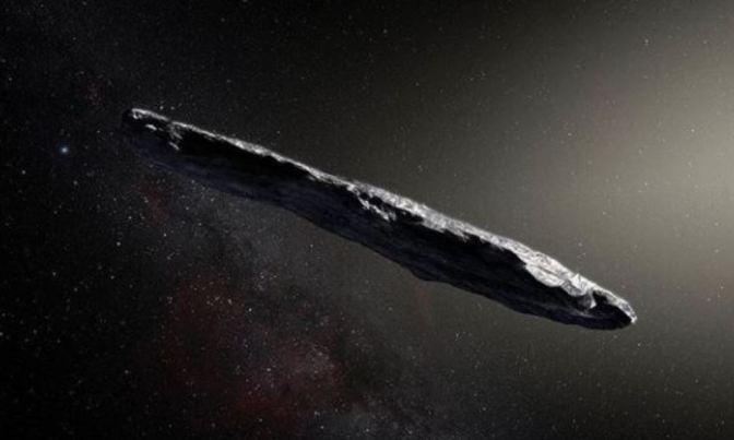 Oumauamua, el asteroide interestelar