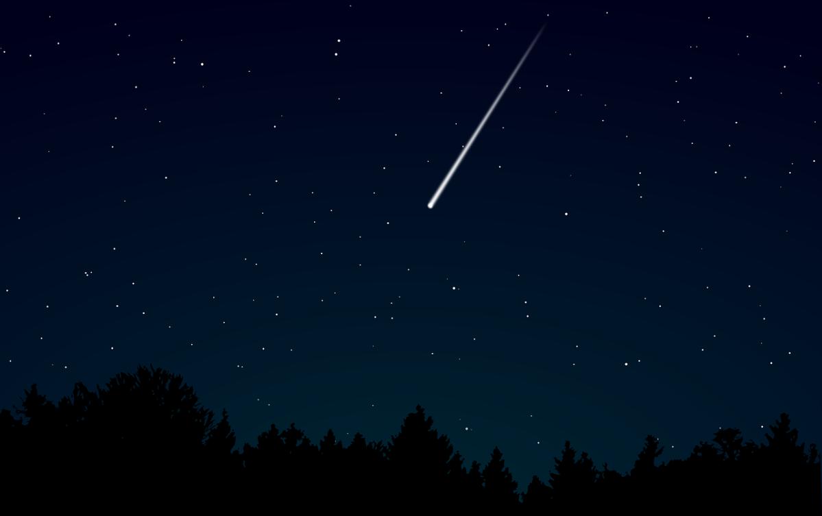 Una espectacular lluvia de estrellas fugaces en diciembre: las Gemínidas