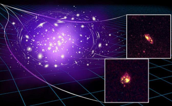 Descubierta la galaxia espiral más antigua hasta la fecha