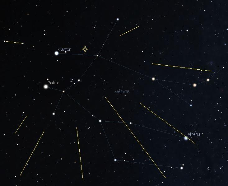 La lluvia de estrellas fugaces más potente del año: Gemínidas