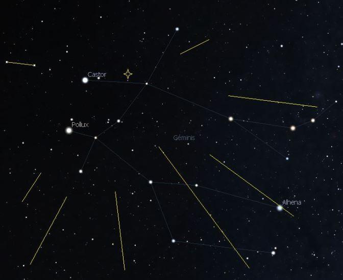 Lluvias de estrellas fugaces en 2018