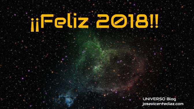 Feliz año astronómico 2018