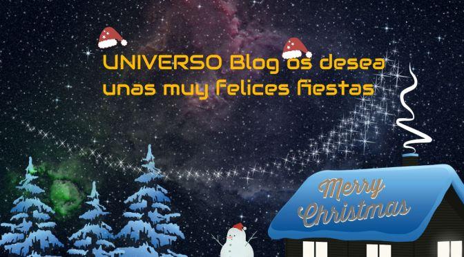 Felices Fiestas entre miles de estrellas