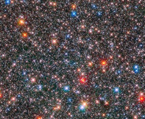 bellezas del cosmos el centro de la galxia
