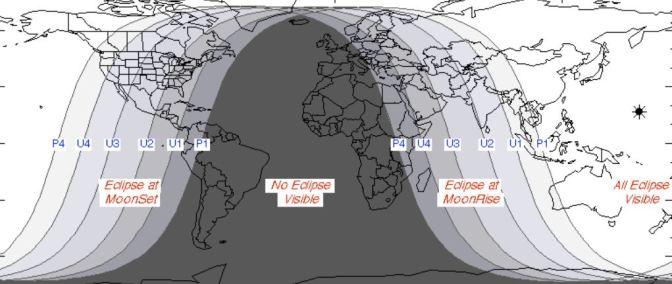 """Eclipse de Luna y Luna """"azul"""" el 31 de enero"""